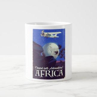 Caneca De Café Grande Viaje na aventura! África