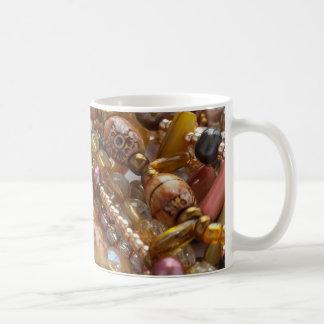 Caneca de café grânulo natural de Earthtone, de