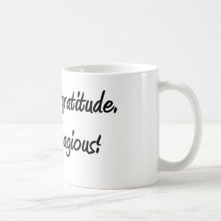 Caneca De Café Gratitude da prática