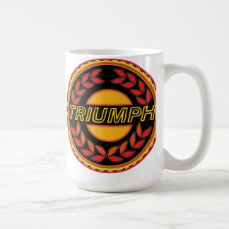 Caneca De Café Grinalda dos carros de Triumph