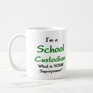 Caneca De Café Guarda da escola