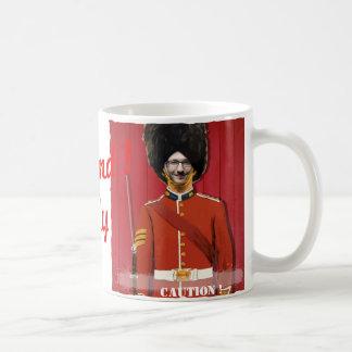 Caneca De Café Guarda real de Londres Grâ Bretanha - com SUA foto