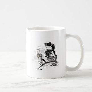 Caneca De Café Guerreiro da trombeta
