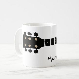 Caneca De Café guitarra