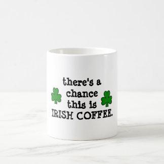 Caneca De Café há uma possibilidade… para o café irlandês