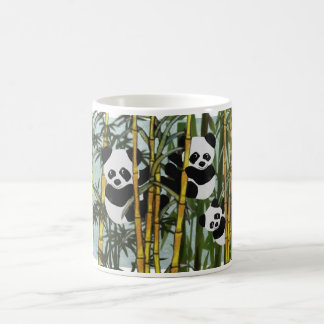 Caneca De Café Habitat do urso de panda