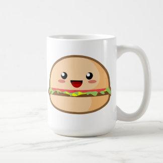 Caneca De Café Hamburger de Kawaii