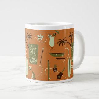 Caneca de café havaiana retro - copo de Havaí do