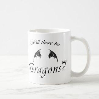 Caneca De Café Haverá dragões?