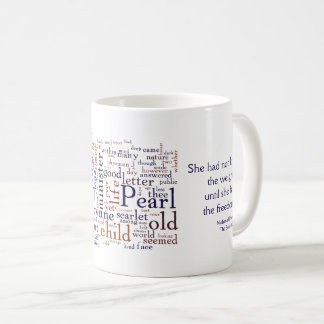 Caneca De Café Hawthorne - o escarlate das palavras e as citações
