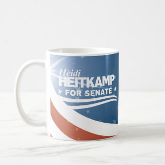 Caneca De Café Heidi Heitkamp para o Senado