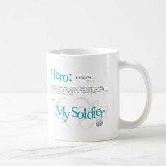 Caneca De Café Herói: Meu soldado