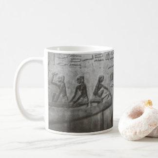 Caneca De Café Hieroglyphics egípcios