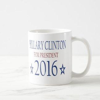 Caneca De Café Hillary Clinton para o presidente 2016
