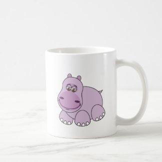 Caneca De Café Hipopótamo do bebê