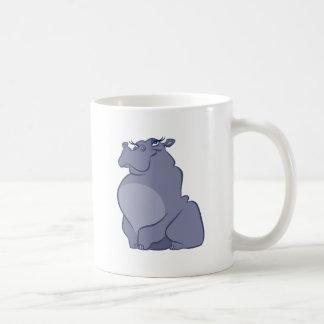 Caneca De Café Hipopótamo para o Natal