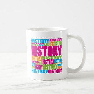 Caneca De Café História colorida