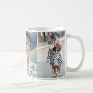 Caneca De Café HM rainha Elizabeth, mãe de rainha 1988