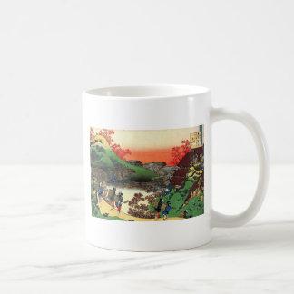 Caneca De Café Hokusai - arte japonesa - Japão