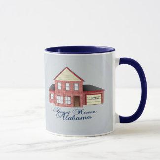Caneca de café Home doce de Alabama