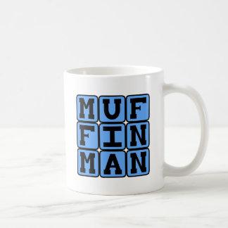 Caneca De Café Homem de muffin