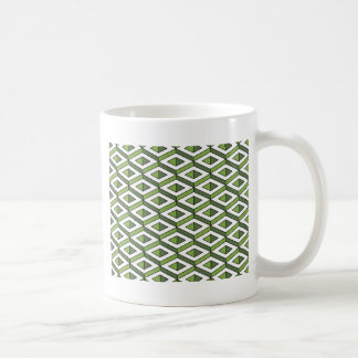 Caneca De Café hortaliças e couve da geometria 3d