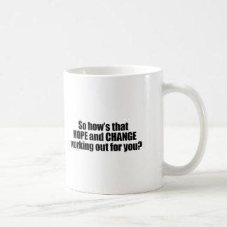 Caneca De Café Hows que esperam e mudam elaborar para você