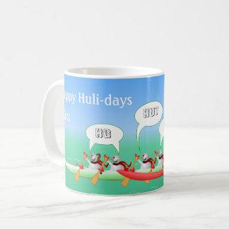 Caneca De Café Huli-dias felizes