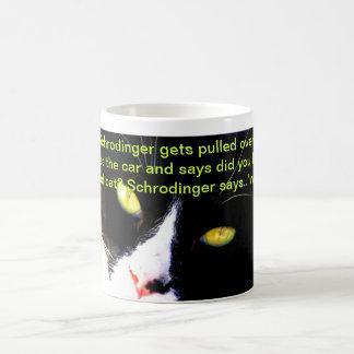 Caneca De Café Humor IX da ciência e do gato