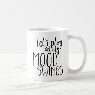 Caneca De Café Humor temperamental do provérbio engraçado PMS dos