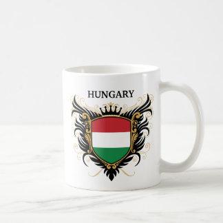 Caneca De Café Hungria [personalize]
