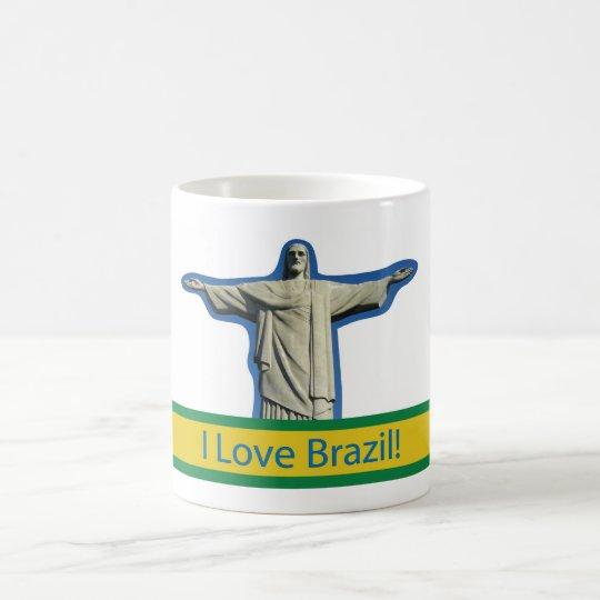 Caneca De Café I love Brazil