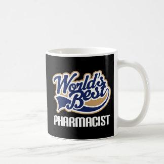 Caneca De Café Ideia do presente para o farmacêutico (mundos