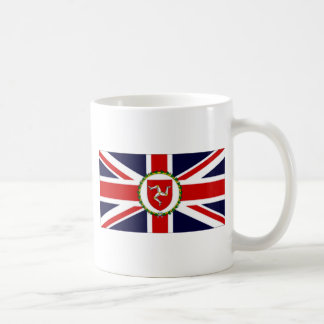 Caneca De Café Ilha da bandeira do tenente governador do homem
