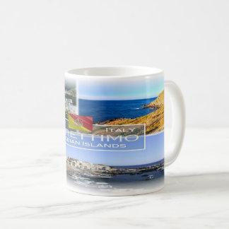 Caneca De Café Ilha de Italia - de Sicília - de Marettimo -