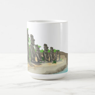 Caneca De Café Ilha de Páscoa Moai