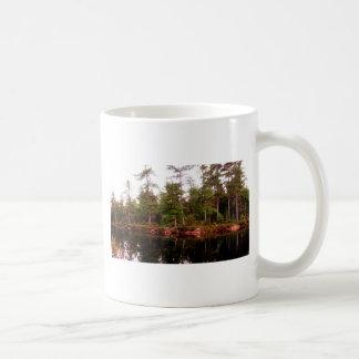 Caneca De Café Ilha de St Joseph da linha costeira do lago