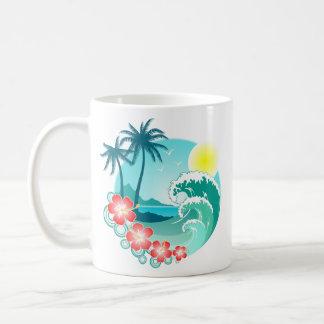 Caneca De Café Ilha havaiana 3