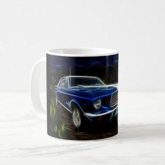 Caneca De Café Iluminação do carro
