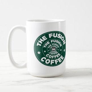 Caneca De Café Ilusão da fusão
