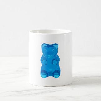 Caneca De Café Ilustração azul de Gummybear
