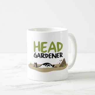 Caneca De Café Ilustração principal do jardineiro