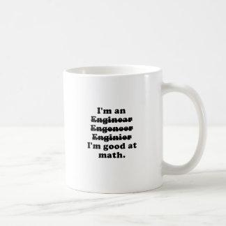 Caneca De Café Im um engenheiro