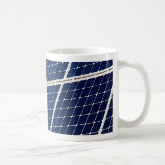 Caneca De Café Imagem de um painel de energias solares engraçado
