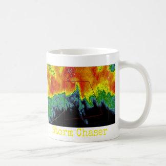 Caneca De Café Imagem do radar do caçador da tempestade
