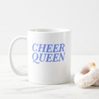 Caneca De Café Impressão da rainha do elogio