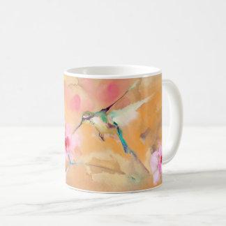 """Caneca De Café Impressão """"de cora"""" do colibri"""