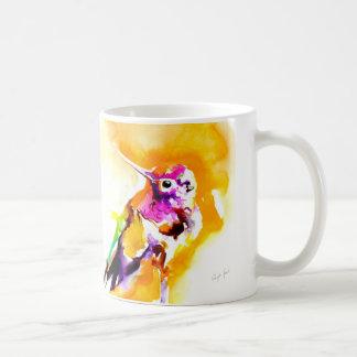 """Caneca De Café """"Impressão do colibri do Gorget lindo"""""""