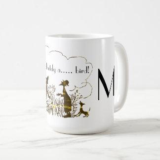 Caneca De Café Impressão engraçado do observador de pássaro