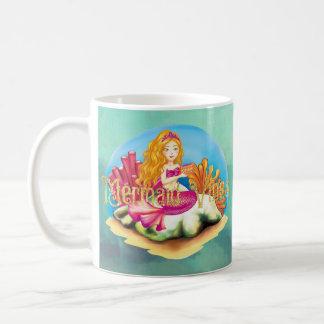 Caneca De Café Impressões da sereia